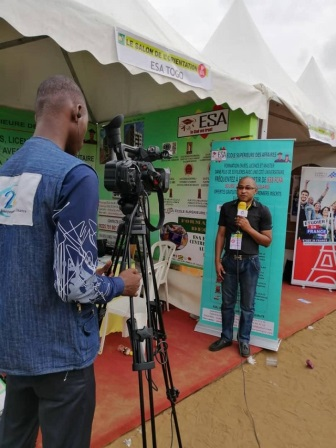 PARTICIPATION DE L'ESA AU SALON DE L'ORIENTATION  2019 A ABIDJAN- ESA Photo 1132