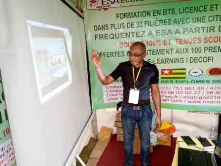 PARTICIPATION DE L'ESA AU SALON DE L'ORIENTATION  2019 A ABIDJAN- ESA Photo 1133