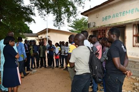 SEANCES TP 2019 DES ETUDIANTS EN MASTER GENIE CIVIL A L'EPAC-UAC - ESA Photo 1147