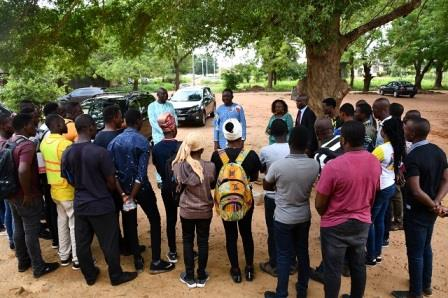 SEANCES TP 2019 DES ETUDIANTS EN MASTER GENIE CIVIL A L'EPAC-UAC - ESA Photo 1152