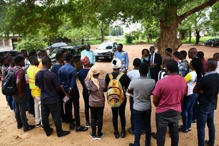 SEANCES TP 2019 DES ETUDIANTS EN MASTER GENIE CIVIL A L'EPAC-UAC - ESA Photo 1153